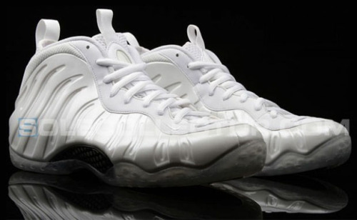 "The white/white/white Foamposite One has a release date: March 29, 2013 I have people asking about the affectionately nicknamed ""Cocaine Foams"" already This date is sure to change"
