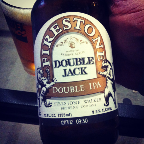 Firestone Walker's Double Jack double IPA is simply one of the finest double IPAs out there. Hoppy as hell with a great smell and finish. Go get it now!