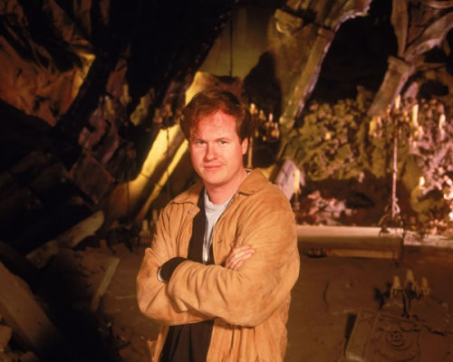 Joss Whedon on-set of his Television series Buffy the Vampire Slayer