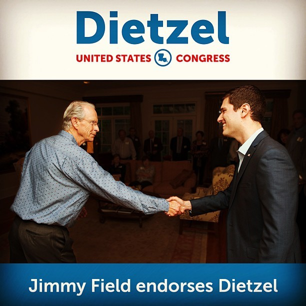 Honored to have the support of Jimmy Field, former PSC Chairman.