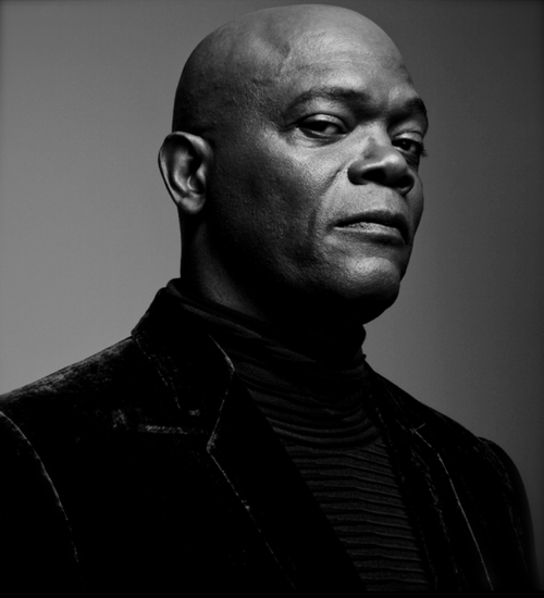 """Today In History We Honor Samuel L. Jackson 'Respectfully labeled as one of the hardest working actors in Hollywood, Jackson is an undisputed star, demonstrated by the fact that his films have grossed more money in box office sales than any other actor in the history of filmmaking. Jackson made an indelible mark on American cinema with his portrayal of 'Jules', the philosophizing hitman, in Quentin Tarantino's """"Pulp Fiction."""" In addition to unanimous critical acclaim for his performance, he received Academy Award and Golden Globe nominations for Best Supporting Actor and won the British Academy of Film and Television Arts award.' via samuelljackson.com (photo: Samuel L. Jackson) - CARTER Magazine"""