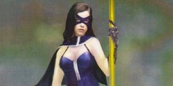 Arrow's Huntress Gets a New Costume…Sorta