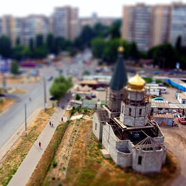 santa89:  #tiltshift #church #odessa #art @inodessa