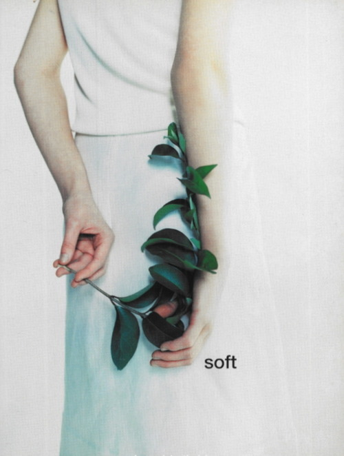 "supermodelgif:  ""Soft"" by Mark Borthwick for Vogue Italia February 1997"
