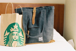 defies:  starbucks and herschel by 0rwellian on Flickr.