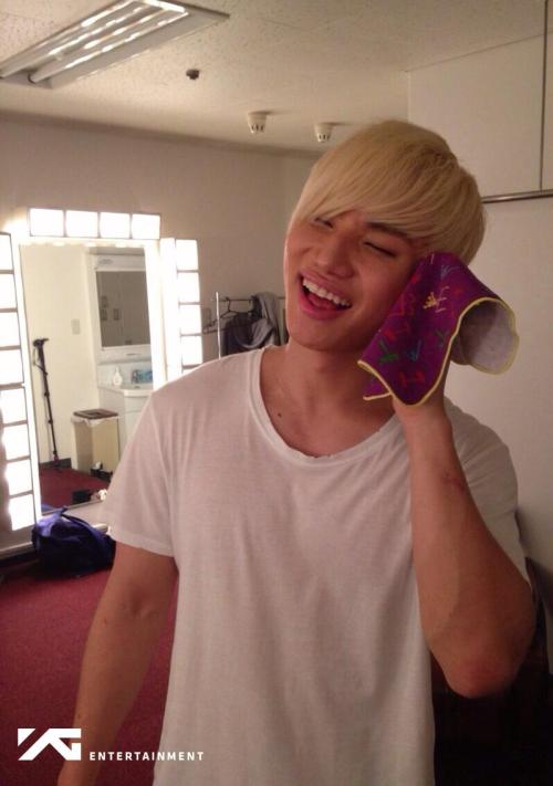 150302 YGEX Staff updated photos of DaesungSource: @YGEXstaff