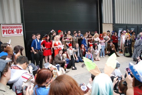 barzul:  here's a bunch of whovians idk  And I missed this EPICNESS just because I had to make the South Shore back home :(  Aww I guess one Jack just missed having a Ianto.