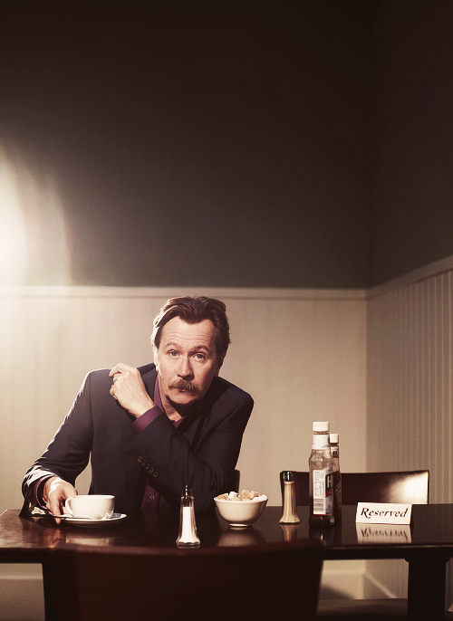 Gary Oldman, photograph by Ian Derry (2011)
