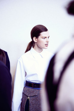 leacolombo:  Bette Franke at CHLOE A/W13 by Lea Colombo