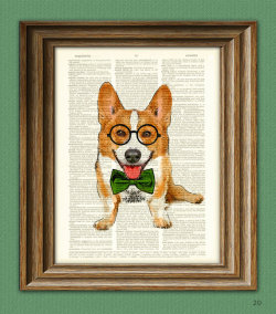 Corgi on Etsy