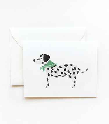 (via Rifle Paper Co. - Dalmatian Card)