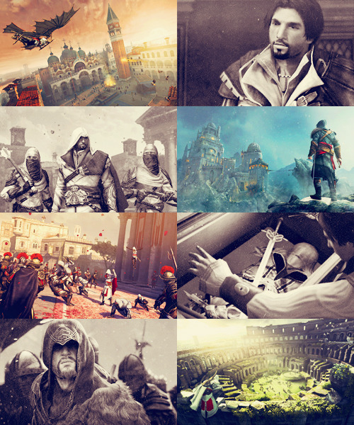 FAVORITE FICTIONAL CHARACTERS↳ Ezio Auditore da Firenze | Assassin's Creed