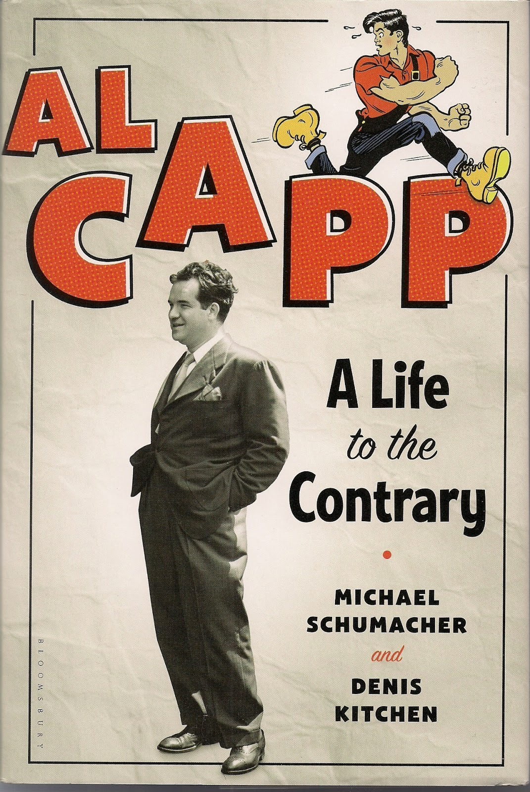 "In 1952, John Steinbeck wrote that Al Capp, the cartoonist and Lil' Abner creator, might well have been the best writer working in the world at the time. In the Times, Andy Webster reviews a new biography of Capp, which reveals that underneath it all lay ""a toxic chip on his shoulder."""