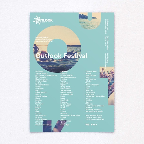 New work for this years Outlook Festival / CC @OutlookFestival @TwoTimesElliott @MagnusHearn