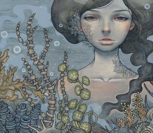 So beautiful. I love Audrey Kawasaki's art!
