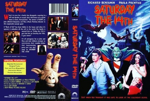 Yesterday was all about Jason - so you know what that means. Today is the day for one of the great bad movies. Enjoy your #saturdaythe14th with a viewing.
