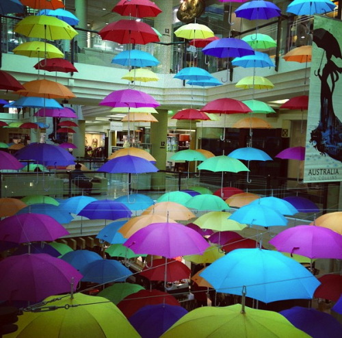 """colorful umbrella""  Photo by jurlique_MP"