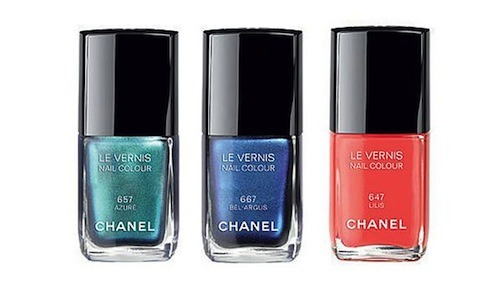 Chanel Introduces Two Never Before Seen Polish Shades, A BB Cream Tea, And More Chanel's summer polish collection, L'ete Papillion Polish Trio, features two iridescent pigments that are exclusive to their polishes. [She Finds] Drink up! Kusmi Tea has created a beverage BB cream to detoxify the impurities on your face. [Style.com] Birchbox UK sits down with LA based artist Deedee Cheriel to find out about her latest exhibition in London. [Birchbox UK] Fashionista held a blind BB cream test to find their favorite regardless of packaging. Find out which three came out on top. [Fashionista] See behind-the-scenes footage from Emily Blunt's cover shoot for the May 2013 issue of InStyle—including the gorgeous clothes and makeup she wore. [InStyle] —Charisse Get prom ready with these 10 updo ideas that are sure to give some major hair-envy.   (Photo: Chanel)