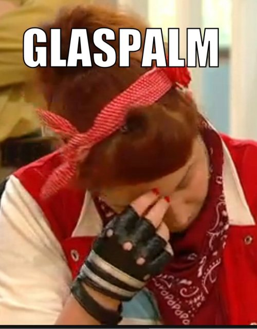 Some memes for the lovely Glasmond, now dominating german pay tv as well! ;)