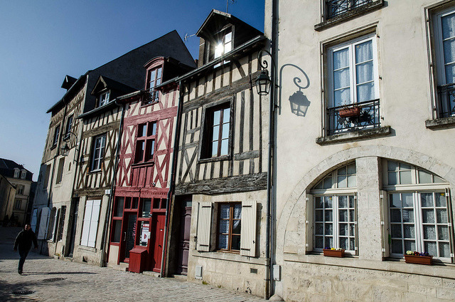 | ♕ |  Maisons à Colombage - Orleans, France  | by © pik45
