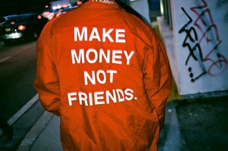 money and friendship