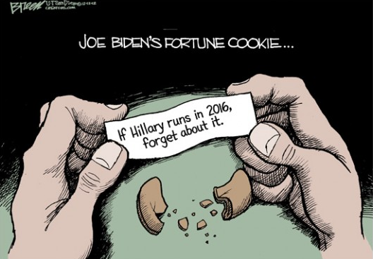 Cartoon of the day: Biden's futureSTEVE BREEN © 2012 Creators Syndicate More cartoons