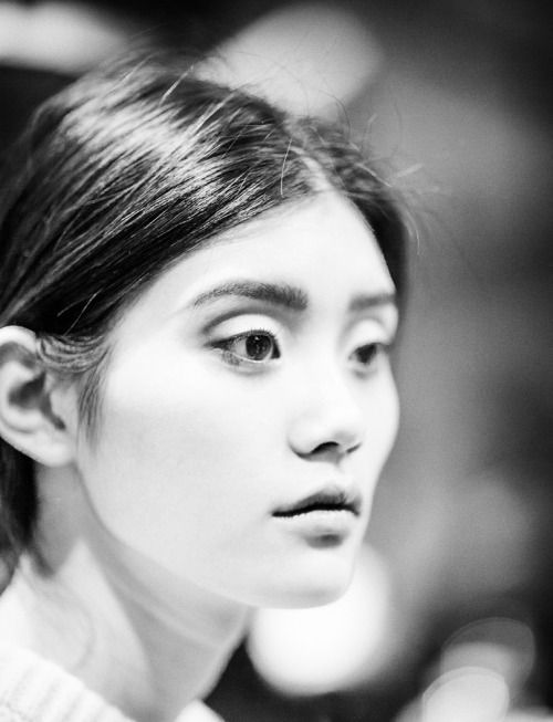 Ming Xi's got a really unique pair of Sunken Monolids.