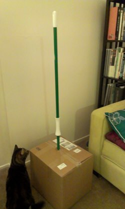 fuckyeahlaughters:  My friend ordered a broom online, this is how they shipped it.