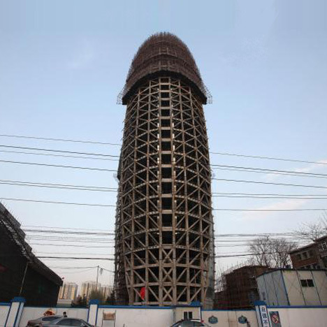 """dezeen:  """"No more weird architecture""""says Chinese president»"""