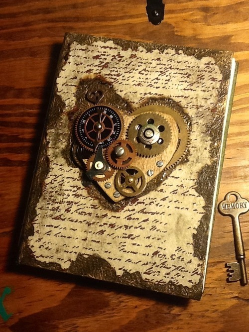 I adore this journal! I wonder where I can find one, or one similar in style.