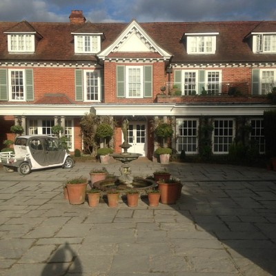 I want this to be my home so pretty… (at Chewton Glen)