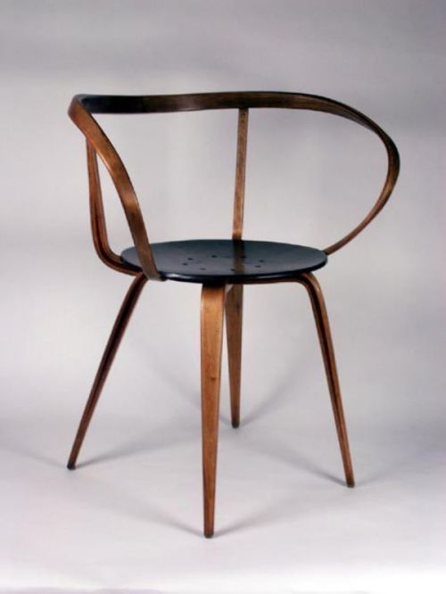 mremdc:  Pretzel Chair - George Nelson, 1952