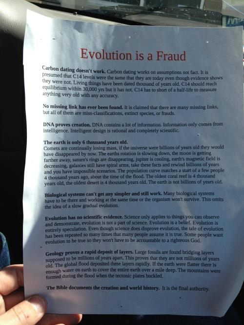 atheist-god:  These have been popping up on bulletin boards in my small town. They put them up, I take them down  awesome atheism