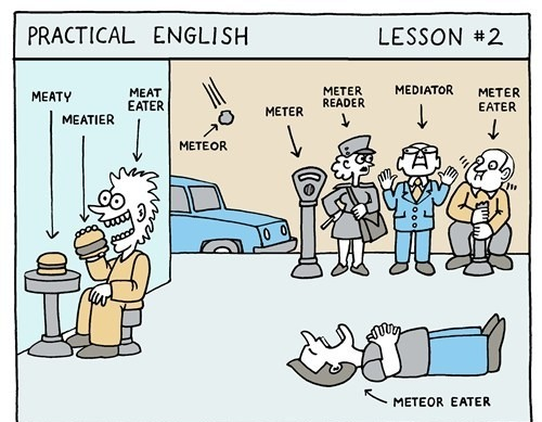 thefrogman:  Practical English by Scott Chambers [website] [h/t: awesomephilia]