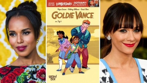 Kerry Washington Rashida Jones Goldie Vance comics Indie Comics film