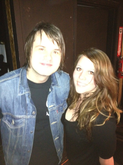 When I met Shane Told from Silverstein :3 sogreatsogreatsogreat