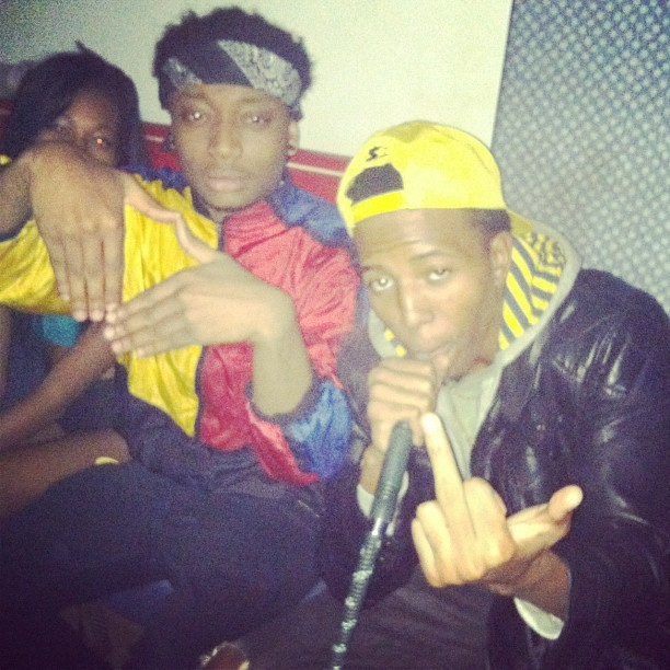 #trippythursdays last night with the homie birthday homie @TheRarePharaoh
