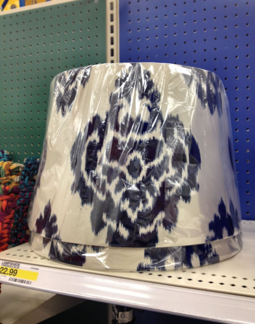 missbhavens:  jameshance:  What a nice lampshade! the pattern i- OH GOD IT'S FEASTING ON MY SOUL  OH MY GOD IT'S THE IKAT OF DOOM!