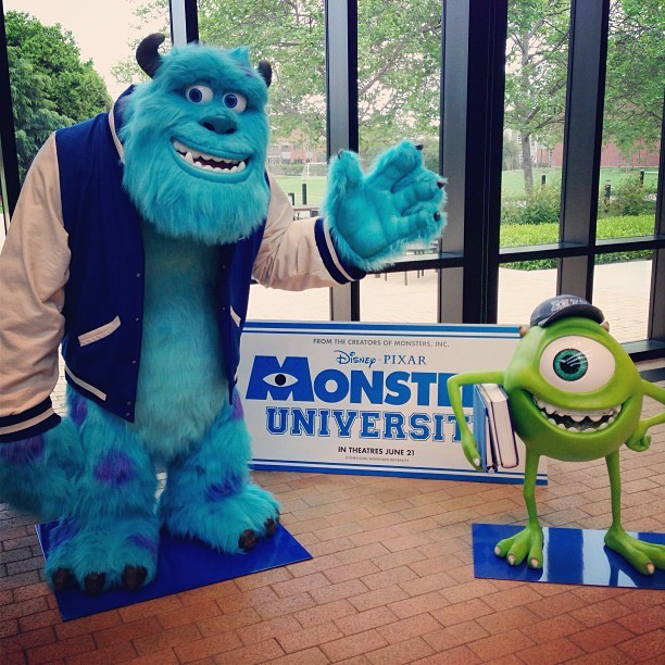It's that time of the year. #MonstersUniversity #tbt? (at Pixar Animation Studios)