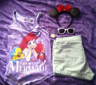 missmaceymouse:  missmaceymouse:  My outfit for Disneyland tomorrow  For those asking I got the shirt at macys