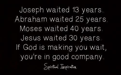 "spiritualinspiration:  Everyone goes through seasons of waiting. A lot of times, people just sit back and wait for God to do everything. But, you have to remember to do your part and make preparations. You have to talk like it's going to happen and act like it's going to happen.Some people might say, ""Well, what if I do this and it doesn't happen?"" But I say what if you do and it does happen? And even if things don't turn out the way you had hoped, you'd still be better off living your life positive and hopeful than you would to go around down and discouraged.  I love what David said in the Bible, ""God, my times are in Your hands."" He was saying, ""God, I don't know when it's going to happen, but I know You know what's best for me."" I'm going to go out today expecting good things. And even if it doesn't happen, I'm not going to go to bed all disappointed. I'm going to go to bed knowing that I'm one day closer to seeing my dreams and desires come to pass!  Amen! Be still and know that He is God. Wait on Him."