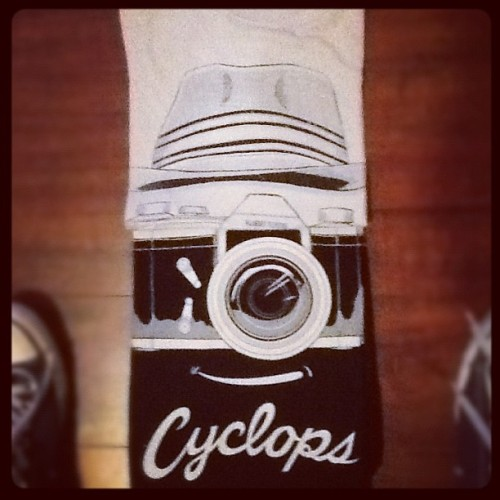 #cyclops in light gray and black. #camera #photography #shirt 📷