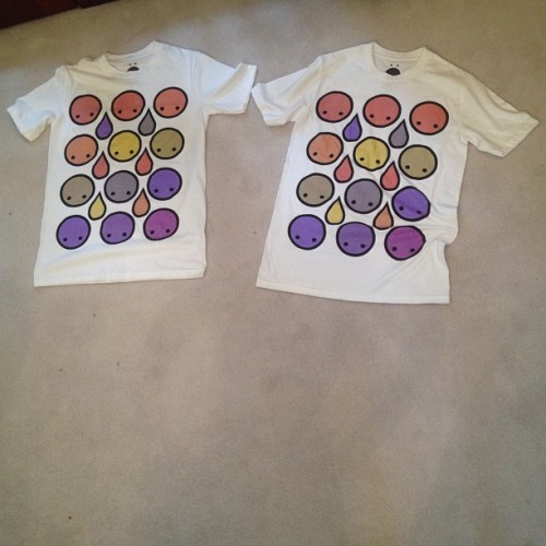 Tee's for @syrongurl & @djbarelylegal…  @artbyomni   #artbyomni #omniboutique