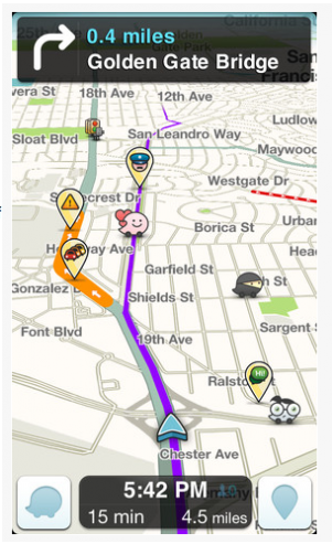 Is Apple considering buying Waze? That's what TechCrunch is saying by way of the rumor mill.