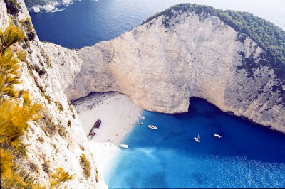 Shipwreck Bay, Zakynthos Island, Greece