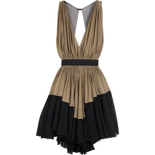 Alexander Wang dress   ❤ liked on Polyvore (see more plunging v neck dresses)
