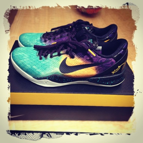 Got my Kobe 8 Easter from @jasonsee33 👍