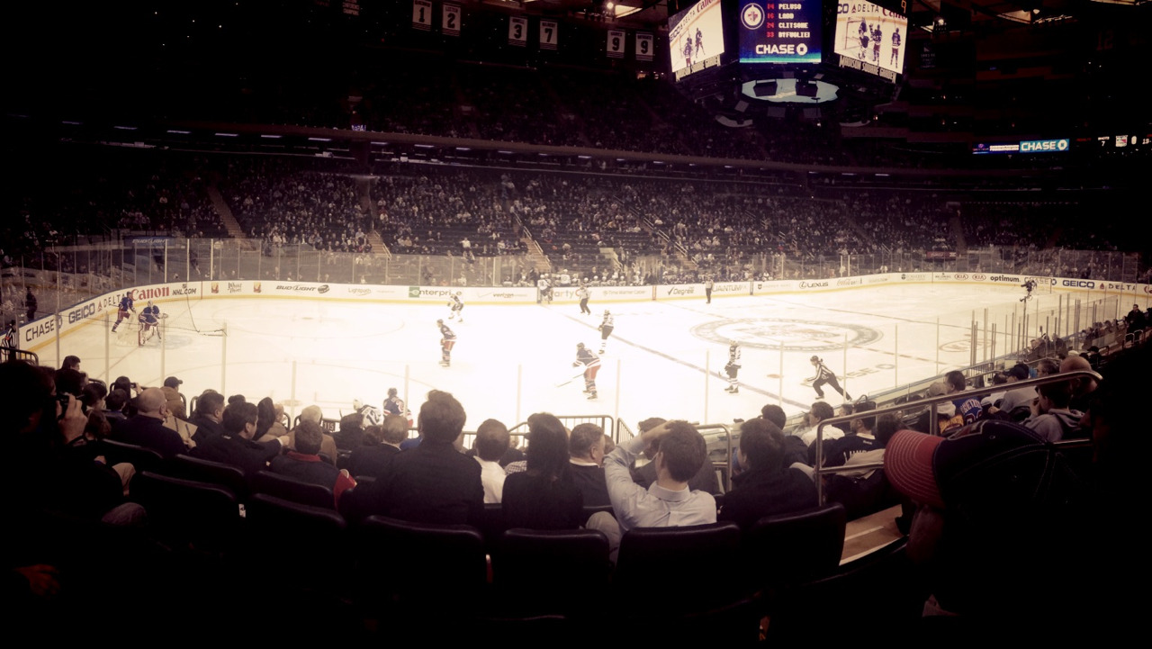 Rangers game at MSG!!