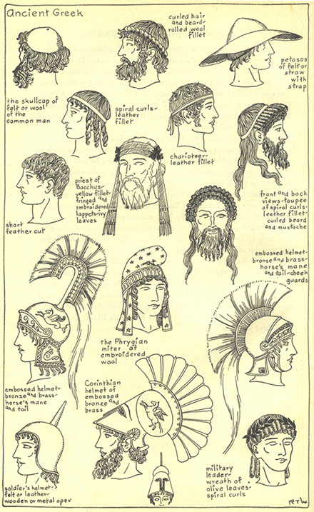 fashion style infographics men ancient greek grooming hairstyles headdresses men& 039;s style men& 039;s fashion vintage