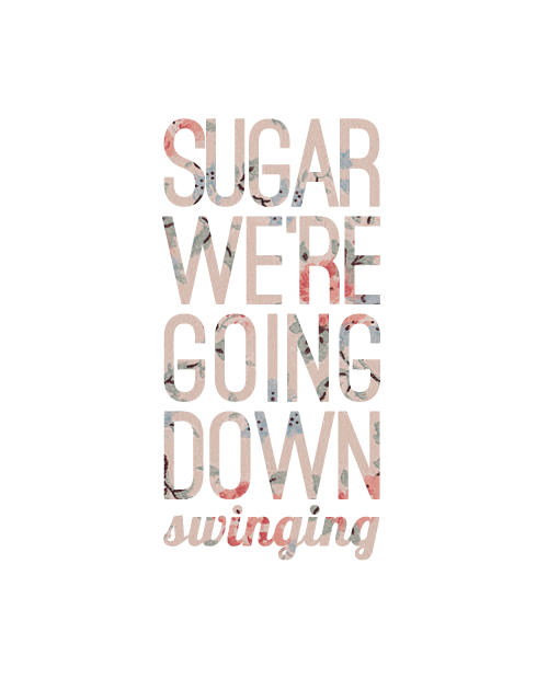 sugar we're going down - fall out boy